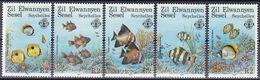 Äußere Seychellen 1987 - Mi.Nr. 128 - 132 - Postfrisch MNH - Tiere Animals Fische Fishes - Fishes