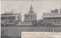 OOSTENDE / RENBAAN / WELLINGTON / AANKOMST VAN DE KONING  1904 - Oostende