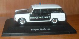 Voiture PEUGEOT 404 BREAK - POLICE Brigade Fluviale - Voitures, Camions, Bus