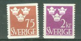 Sweden 1952; Tre Kronor, Michel 374-375.* (MLH) - Nuovi