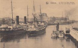 OOSTENDE / HAVEN MET BOTEN - Oostende