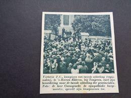 """Origineel Knipsel ( 5869 ) Uit Tijdschrift """" De Stad """"  1937 :   's Heeren Elderen ( Tongeren ) - Sin Clasificación"""