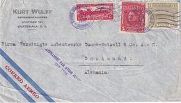 GUATEMALA 1936 PLI AERIEN DE GUATEMALA CITY POUR DORTMUND - Guatemala