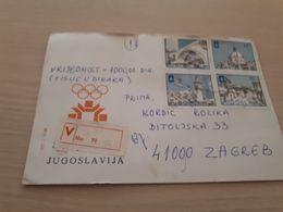 Old Letter - Yugoslavia, Olympic Games Sarajevo 1984 - Yugoslavia