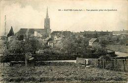 Mauves * Vue Générale Prise Du Quarteron * L'église Du Village - Mauves-sur-Loire