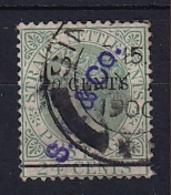 Straits Settlements: 1891   QV - Surcharge    SG86    10c On 24c      Used - Straits Settlements