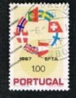 PORTOGALLO (PORTUGAL)  -  SG 1329  - 1967 E.F.T.A.  -   USED° - 1910-... República