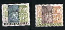 PORTOGALLO (PORTUGAL)  -  SG 1335.1336  - 1968 BENTO DE GOES ANNIVERSARY  (COMPLET SET OF 2) -   USED° - 1910-... República