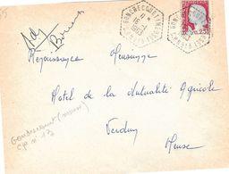 Lettre Cachet Manuel, Gondrecourt (Meuse) C.P N° 13 I6-I I963 - Marcophilie (Lettres)