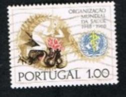 PORTOGALLO (PORTUGAL)  -  SG 1343  - 1968 O.M.S. ANNIVERSARY  -   USED° - 1910-... República