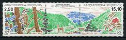 SPM MIQUELON 1992 N° 568A ** Neufs  MNH Superbe C 9.20 € Faune Oiseaux Birds Arbres Trees île De Langlade Fleurs - St.Pedro Y Miquelon