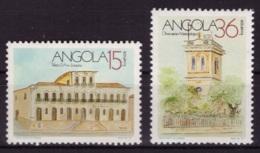 Angola 1990 - MNG- Bâtiments - Michel Nr. 784 786 (ang041) - Angola