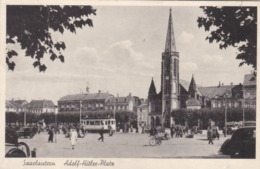 SAARLAUTERN - SAARLOUIS - SAAR - DEUTSCHLAND - BELEBTE ANSICHTKARTE 1942. - Kreis Saarlouis