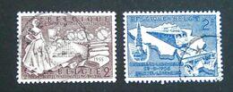 EMISSIONS 1955/56 - OBLITERES - YT 968 + 996 - Belgium