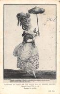 Histoire Du Costume (Gravure) - Epoque Louis XVI - Femme De Qualité - Tarjetas De Fantasía