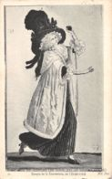 Histoire Du Costume (Gravure) - Epoque De La Convention - An I - Tarjetas De Fantasía
