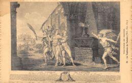 Voltaire En Images (Gravure) - Le Tombeau De Voltaire - Tarjetas De Fantasía