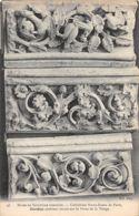 Paris (Musée De Sculpture Comparée) - Cathédrale Notre Dame - Cordon Extérieur Encadrant La Porte De La Vierge - Esculturas