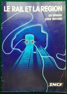 SNCF PARIS RER RATP Ca 1980 - Chemin De Fer