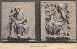 Reims (Musée De Sculpture Comparée) - Cathédrale - Figures Du Portail Sud De La Façade - Esculturas