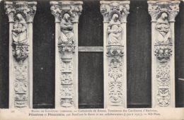 Rouen (Musée De Sculpture Comparée) - Cathédrale - Tombeaux Des Cardinaux D'Amboise - Pilastres Et Pleurants - Esculturas