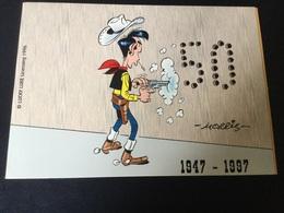 Télécarte Neuve 5U (50 Ans De Lucky Luke) Tirage Limite à 2000 Exemplaires - Belgium