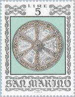 San Marino 1974 Scott 832 Sello ** Armas Antiguas Historical Weapons And Armor Round Battleshield, 16th Century Mi. 1059 - San Marino