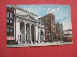 Broad Street Trolly  & Howard Savings Institute   Newark   New Jersey   Ref 4286 - Autres
