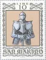 San Marino 1974 Scott 833 Sello ** Armas Antiguas Historical Weapons And Armor German Harness With Helmet Michel 1060 - San Marino
