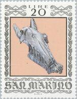 San Marino 1974 Scott 835 Sello ** Armas Antiguas Historical Weapons And Armor Wapens Michel 1062 Yvert 868 Stamps - San Marino