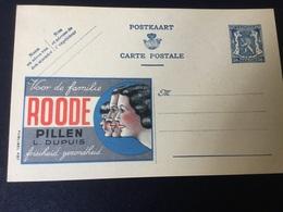 Publiblel Neuve 497 (société Roode Pillen) - Stamped Stationery
