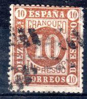 1867, Espagne - Chiffre; YT 94 , Oblitéré, Lot 45469 - 1850-68 Regno: Isabella II