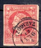 1860, Espagne - Isabelle II.; YT 49, Oblitéré, Lot 45461 - 1850-68 Regno: Isabella II
