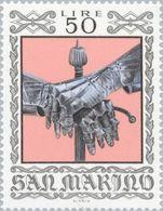 San Marino 1974 Scott 837 Sello ** Armas Antiguas Historical Weapons And Armor Wapens Michel 1064 Yvert 870 Stamps - San Marino