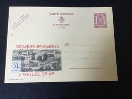 Publibel Neuve 326 (brasseries D'Ixelles) - Stamped Stationery