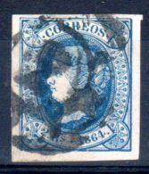 1864; Isabelle II.; YT 64, Oblitéré, Lot 45455 - 1850-68 Regno: Isabella II