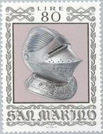 San Marino 1974 Scott 838 Sello ** Armas Antiguas Historical Weapons And Armor Sallet Helmet Michel 1065 Yvert 871 Stamp - San Marino