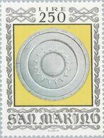 San Marino 1974 Scott 839 Sello ** Armas Antiguas Historical Weapons And Armor Sforza Shield Michel 1066 Yvert 872 Stamp - San Marino