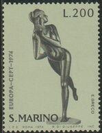 San Marino 1974 Scott 841 Sello ** Europa CEPT Esculturas E. Greco Michel 1068 Yvert 874 Stamps Timbre Saint Marin - San Marino