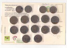 Belgïe  Belgique Baudouin: 20 C Et 50 C. - 01. 20 Centimes