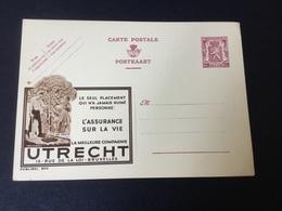 Publibel Neuve 803 (Utrecht ) - Stamped Stationery