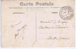 LOT Et GARONNE - Cachet Manuel Pointillé FONGRAVE Du 23 -7  11 - Postmark Collection (Covers)