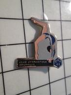 615B Pin's Pins / Beau Et Rare / THEME : SPORTS / CGA 92 GYMNASTIQUE CLUB AVIONNAIS FILLE EN MAILLOT - Gymnastics