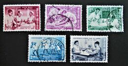 INDEPENDANCE DU CONGO 1960 - NEUF **/OBLITERES - YT 1140/44 - Belgium