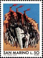 San Marino 1975 Scott 853 Sello ** Escape Of Italian War-time Refugees Michel 1087 Yvert 886 Stamps Timbre Saint Marin - San Marino