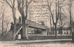 *** 82  ***  CASTELSARRASIN  La Passerelle Et La Gare - Précurseur Timbré TTB - Castelsarrasin