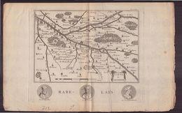 """Gravure ( 32 X 21 Cm ) """" Carte Du Chinonois """" - Prints & Engravings"""