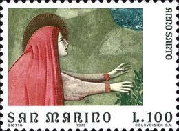 San Marino 1975 Scott 863 Sello ** Año Santo Arte Frescos De Giotto En La Capilla Scrovegni Padua Maria Magdalena M 1092 - San Marino