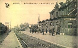 """HÉRENTHALS, """"Binnenzicht Der Statie - Interieus De La Gare"""", Unused - Herentals"""
