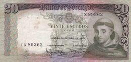 Billet  - Portugal  - 20 Escudos  1964 - Portugal
